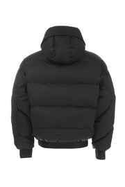 Ienki Ienki Black Hooded Jacket Man