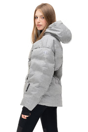 ienki ienki technical skiing jacket grey sheena