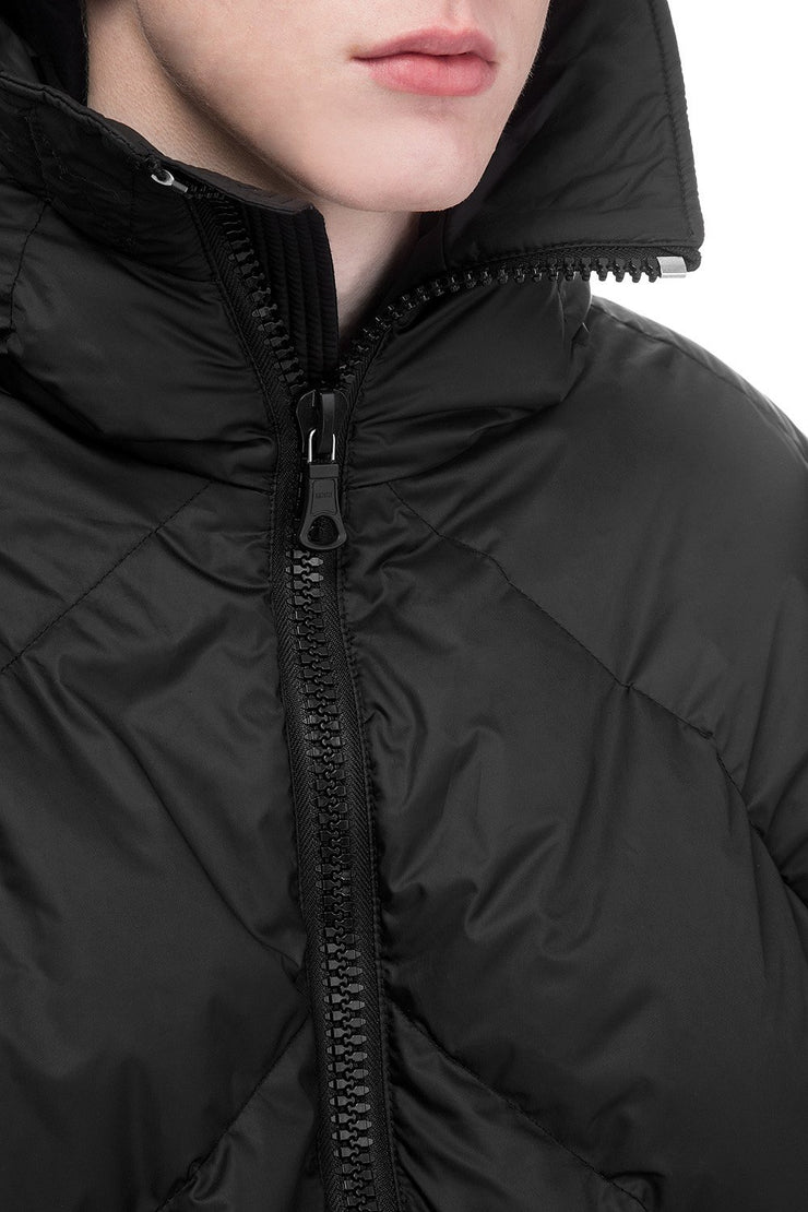 Ienki Ienki Men's Black Puffer Jacket