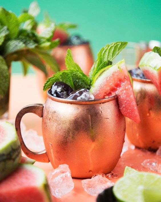 Cucumber Watermelon Moscow Mule
