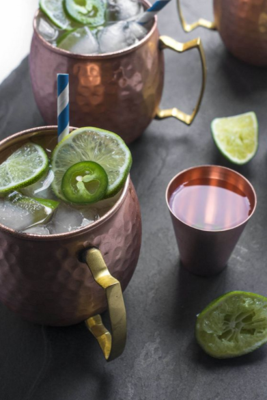 Gin and Ginger Beer Moscow Mule