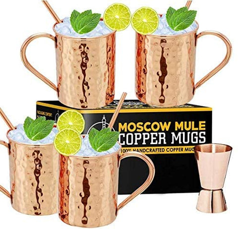 Copper Cure Moscow Mugs
