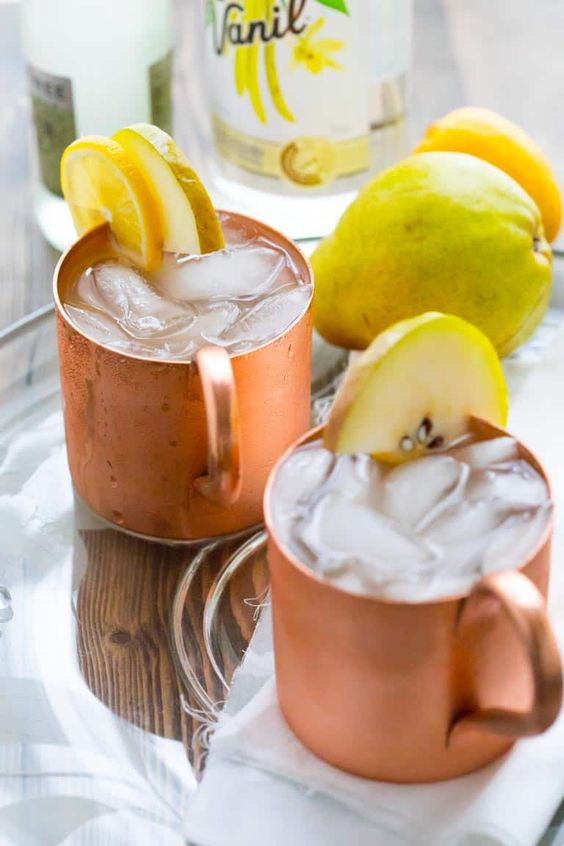 Vanilla Pear Moscow Mule