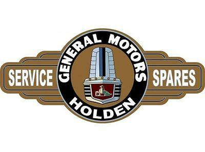 A GMH Holden FX  Service Station tin metal  sign bar garage - Free Postage Buy me - TinSignFactoryAustralia