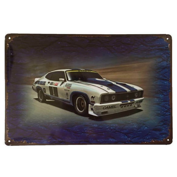 Ford Cobra XC Tin Sign Bathurst Car Shed Garage Man Cave Wall Plaque