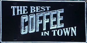 COFFEE Garage Rustic Look Vintage Metal  Tin Signs Man Cave, Shed and Bar Sign