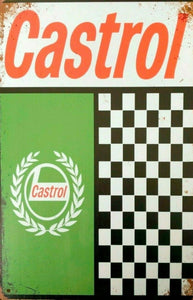 Castrol tin metal sign MAN CAVE brand new