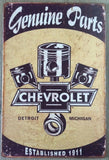 Chevy Chevrolet belair 1957  tin metal sign MAN CAVE brand new
