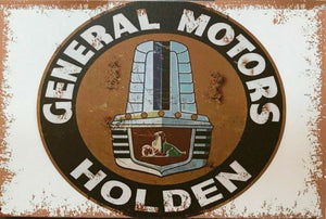 GMH General Motors Holden tin metal sign MAN CAVE brand new