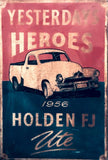 GMH Holden FJ Ute tin metal sign MAN CAVE brand new