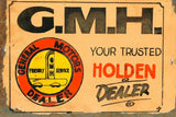 GMH holden sales service tin metal sign brand new free postage