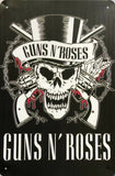 GUNS N ROSES Garage Rustic Vintage Metal Tin Signs Man Cave Shed and Bar