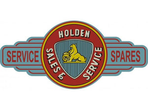 A Holden Premuim Old Logo metal tin sign bar garage - Free Postage Buy me - TinSignFactoryAustralia