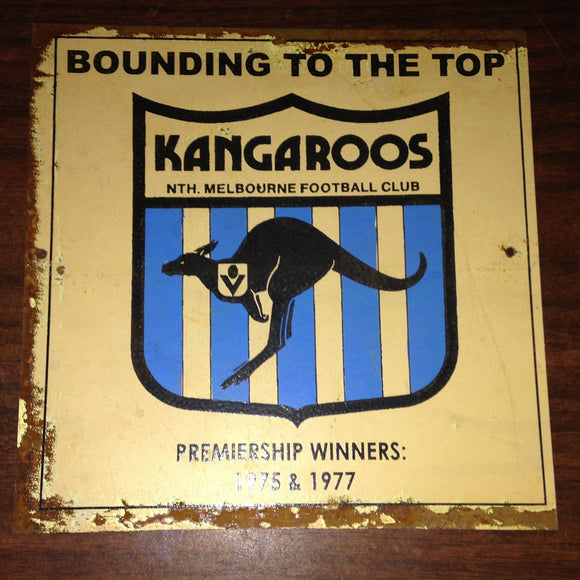 Kangas Football Club Metal Sign 20x 20 cm - TinSignFactoryAustralia