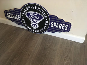 Ford Service Station tin metal  sign bar garage - Free Postage Buy me - TinSignFactoryAustralia