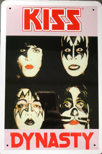 KISS Memorabilia Garage Rustic Vintage Metal Tin Signs Man Cave Shed and Bar Sign