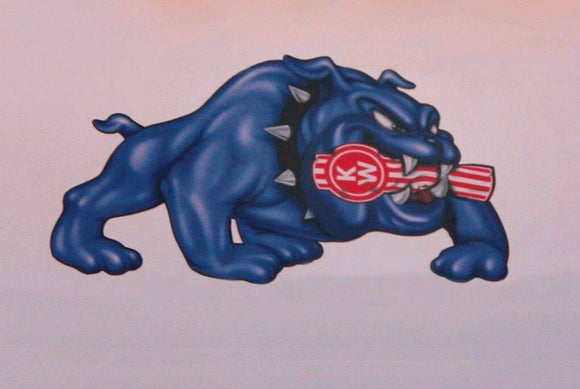 Mack Trucks Bulldog tin metal sign man cave new garage