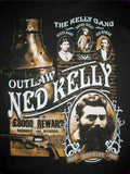 Ned Kelly outlaw Kelly gang new tin metal sign MAN CAVE 40x30cm