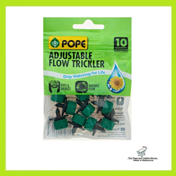Pope Barbed Adjustable Flow Trickler - 10 Pack