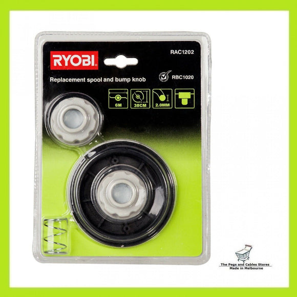 Ryobi Replacement Spool and Bump Knob - Suits RAC1020 Line Trimmer