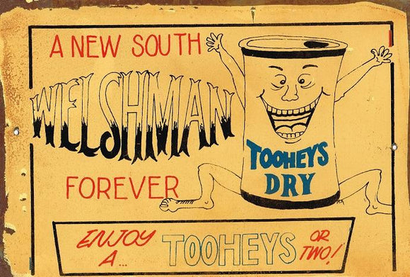 NSW AND Tooheys Dry sign 20 x 30 cm free postage - TinSignFactoryAustralia