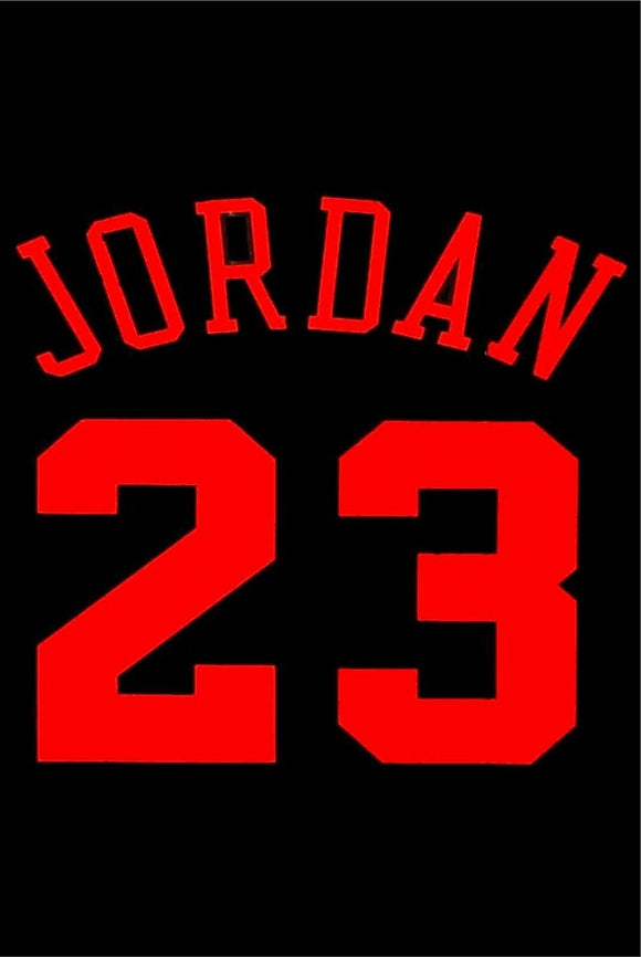 Sports basketball michael Jordan 23 tin metal sign  brand new free postage