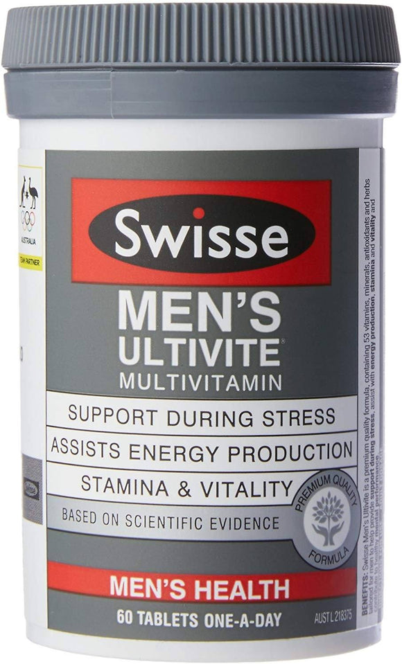 Swisse Mens Ultivite F1 60 Tablets