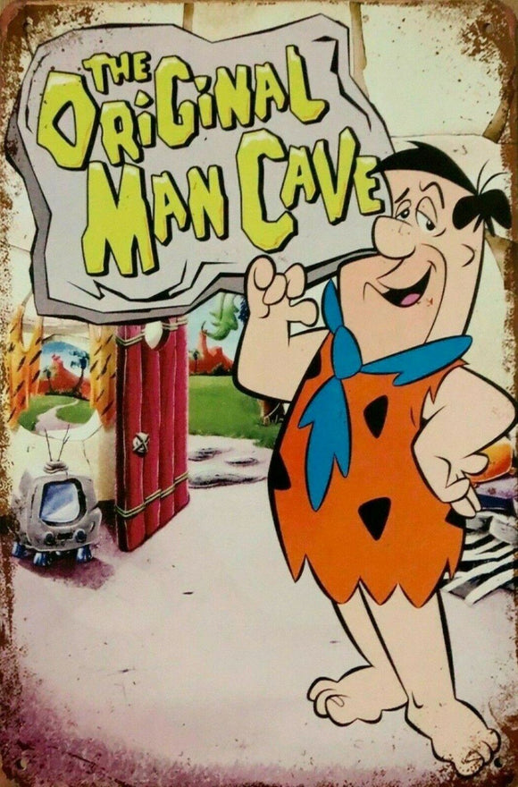 The Original Man Cave tin metal sign MAN CAVE brand new