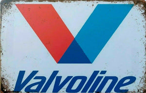 Valvoline tin metal sign MAN CAVE brand new
