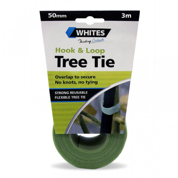 Whites Hook And Loop Tree Tie