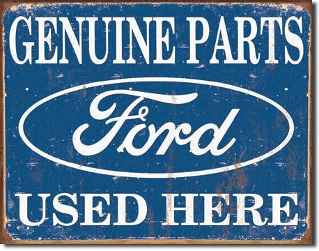 Ford Parts Used Here  Metal Sign free postage 30 x 40 cm - TinSignFactoryAustralia