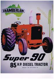 Chamberlain super 90 metal sign free postage 30x 40 cm