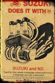 suzuki does it with ND metal sign 20 x 30 cm free post