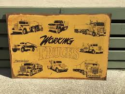 Truck of yesterday  40 x 60 cm free postage Australia Wide