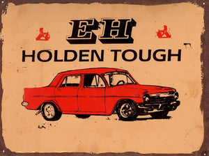 EH Holden Tough metal sign 20 x 30 cm free postage
