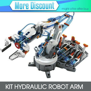 KIT HYDRAULIC ROBOT ARM Assembly Required for gift Christmas KJ8997