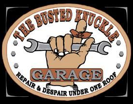 Busted Knuckle Garage metal sign 30 x 40 cm free POSTAGE - TinSignFactoryAustralia