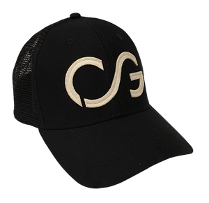 The hat that started it all - Trucker style -soft mesh black