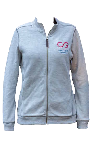 Women's Full Zip Sweater - Charles River Apparel