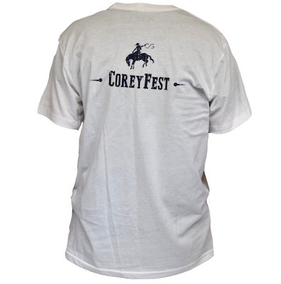 shirt- short sleeve CoreyFest