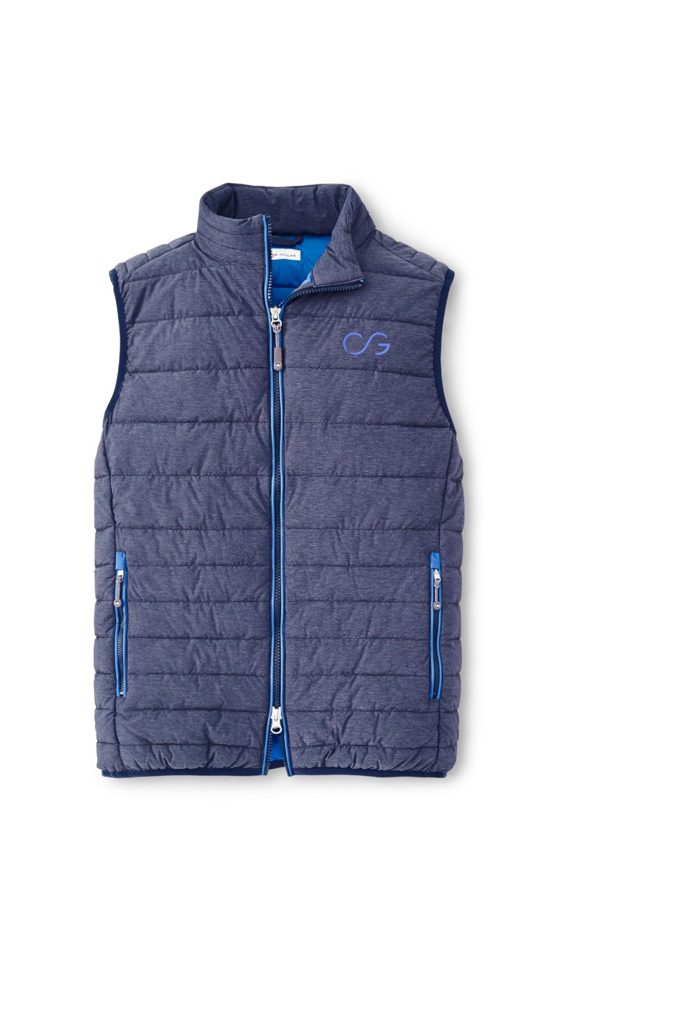 Peter Millar Crown Elite Vest - navy