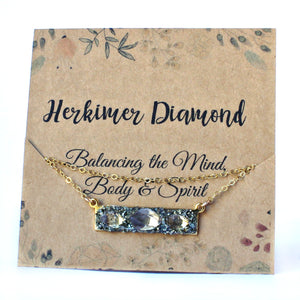 April herkimer diamond crystal meaning