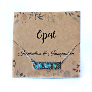 Crystal and gemstone meaning for October Opal