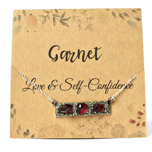 January garnet crystal meaning for love & self-confidence