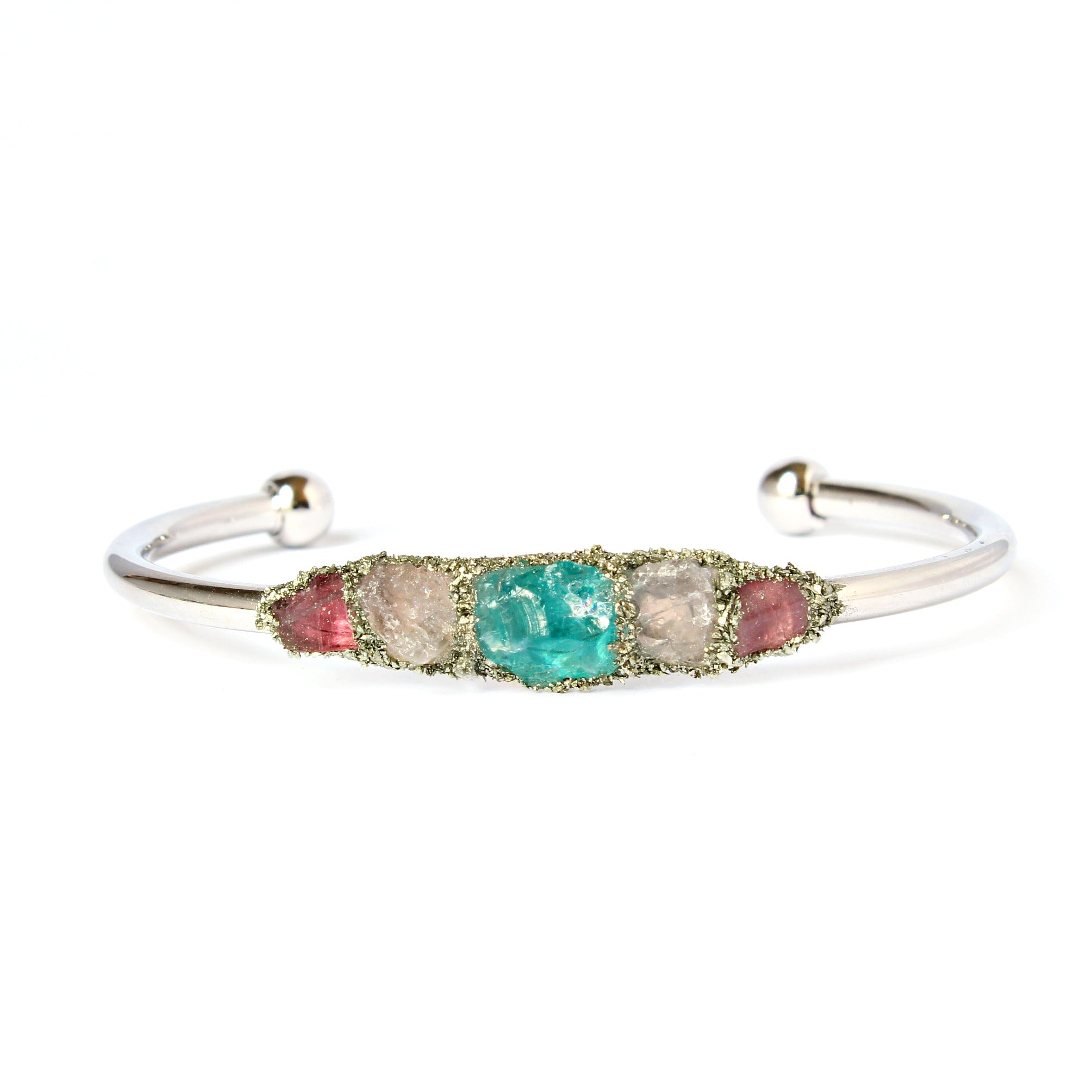 franki princess cz tennis cut silver aquamarine bracelet diamond blue sterling collections jewellery baker