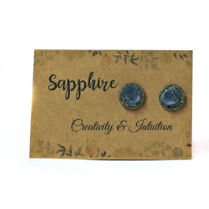 Sapphire gemstone meaning card