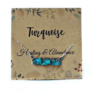 December birthstone green turquoise crystal meaning
