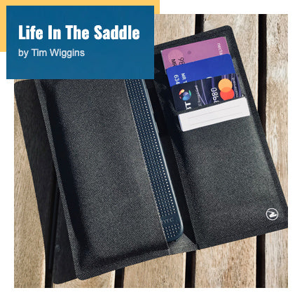 LifeInTheSaddle Review of the Zilfer Cycling Wallet