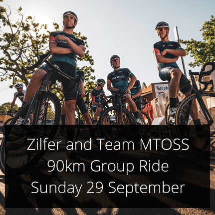 Zilfer & MTOSS Race Team Group Ride in Sydney