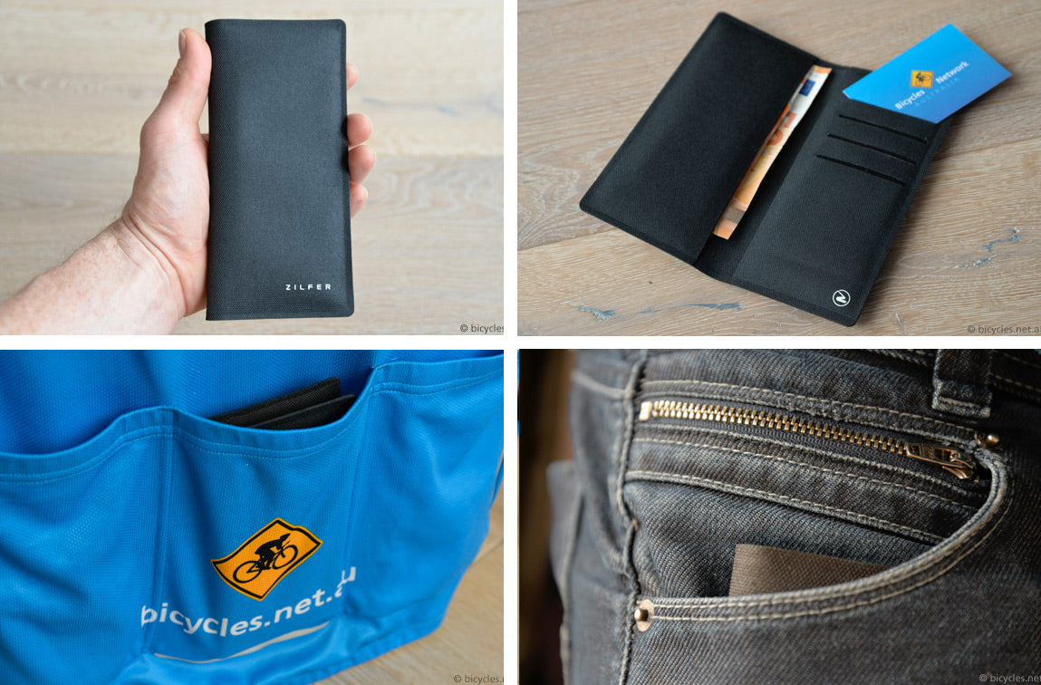 Bicycles Network Australia Zilfer Phone Wallet Review